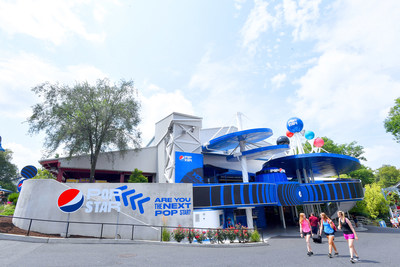 Pepsi and Hersheypark today unveiled Pepsi Pop Star, a first-of-its-kind, immersive entertainment experience created within the iconic amusement park.