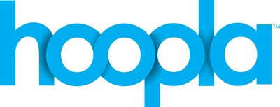 hoopla digital is a category-creating mobile and online streaming service that partners with public libraries to provide access to thousands of Movies, TV Shows, Music, eBooks, Audiobooks and Comics. (PRNewsfoto/hoopla digital)