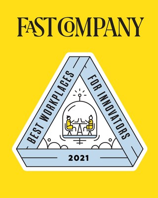 Fast Company Best Workplaces for Innovators 2021