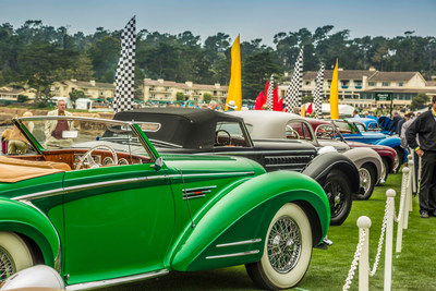 Hagerty Media Named Official Media Partner of the Pebble Beach Concours d'Elegance