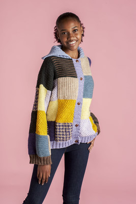 Knitting celebrity style sweaters just got easier with the new O'GO yarn thanks to a quick-start, tangle-free format.