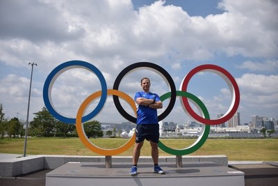 Physical Therapist Dan Rootenberg at the Tokyo Olympics