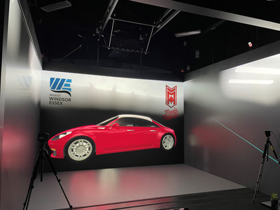 Maple Majestic at Invest WindsorEssex VR Cave (CNW Group/AK Motor International Corporation)