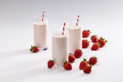CP Kelco's NUTRAVA™ Citrus Fiber can be used in condiments, dressings and fruit drinks, such as this tasty fruited yogurt drink.