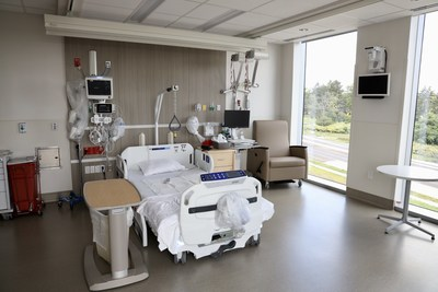 Patient room with natural light