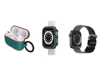 LifeProof also offers Eco-Friendly cases for Apple Watch, AirPods and AirPods Pro, as well as a protective case for iPad (9th generation).