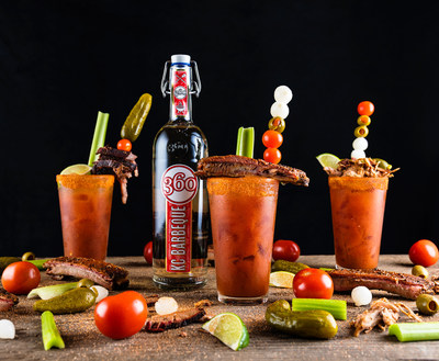 360 Barbeque Bloody Marys.