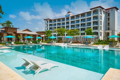 The recently debuted South Seas Village at Sandals Royal Barbados, featuring new signature suites and two new wellness-inspired eateries.