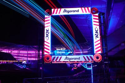 DRL drones race through the Algorand gate