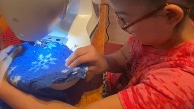 Nine-year-old Esperanza Alcorta of Silver City, New Mexico, received the Hope Award for her innovation.
