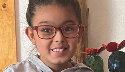Esperanza Alcorta, a third grader at Harrison Schmitt Elementary in Silver City, New Mexico, received the top student innovator honor in the EPIC Challenge and Inspiration4 St. Jude Science Fair.