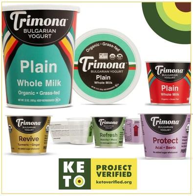 Trimona Yogurt is Keto Verified